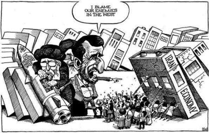 کاریکاتوری گویا از مجله اکونومیست