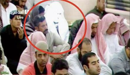 مرد نورانی در مسجد النبی